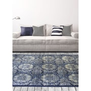 ecarpetgallery Rosalyn Rugs, Dark Navy Blue