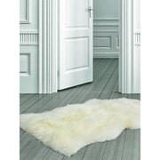 "ecarpetgallery 2'0"" x 3'0"" 100% Luxurious Sheepskin Rugs"