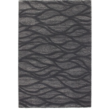 Ecarpetgallery – Tapis Abstract, gris foncé