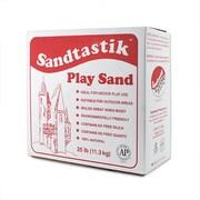 SandtastikMD – Sable pour bac à sable, blanc scintillant naturel, 25 lb