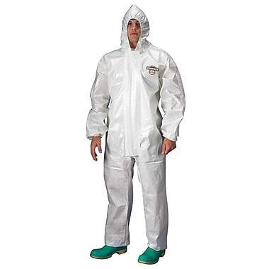 Lakeland – Combinaison Chemmax 2 avec capuchon blanc élastique, 2/paquet (C72132-SM)