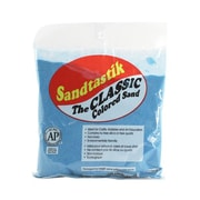 Sandtastik® Classic Coloured Sand, 1 lb (454 g) Bag, Light Blue