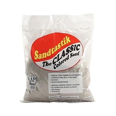Sandtastik® Classic Coloured Sand, 1 lb (454 g) Bag, Silver