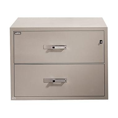 Gardex – Classeur latéral à 2 tiroirs, résistant au feu