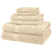 Casual Elegance 100% Egyptian Cotton 6-Piece Quick Dry Towel Sets