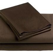 Royal Elegance 100% Combed PIMA Cotton Sheet Set, 320 Threadcount, King, Brown