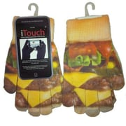iTouch Touchscreen Gloves, One Size Fits All
