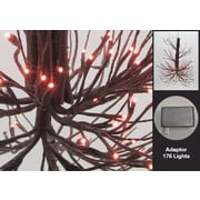 Hi-Line Gift Twig Chandelier with Rice Lights, 176 LED Lights