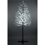 Hi-Line Gift – Lumières florales, cerisier en fleurs pour extérieur, 576 ampoules à DEL avec interrupteur