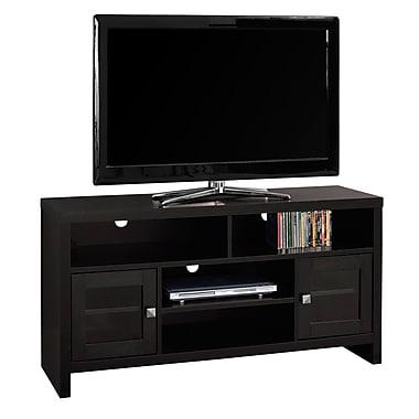 Monarch – Meuble TV I 2704 avec portes en verre, 48 po de long