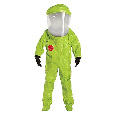 Dupont Personal Protection Encapsulated Suit Tychem Tk Level A Extra Wide Shield, M (TK554T-M)