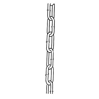 Chaînes par Campbell, longueur de la chaîne : 150 pi (45,7 m), charge d'utilisation maximale : 3150 lb. (1,575 tonne) (510413)