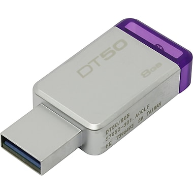 Kingston DataTraveler USB 3.0 Flash Drive, 8 GB (DT50/8GB )