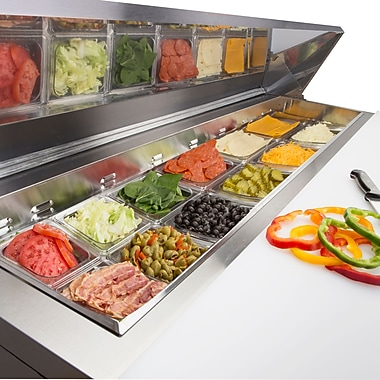 Maxximum Cold Sandwich and Salad Station