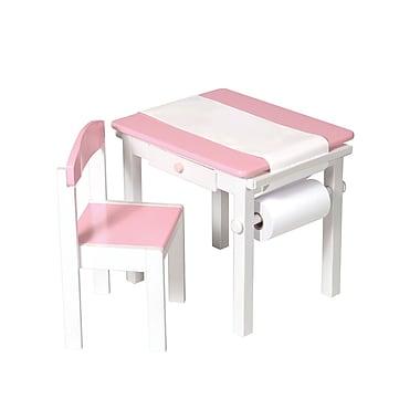 Guidecraft – Ensemble de table d'art et de chaises G98048, 21,5 x 17,5 x 19 po