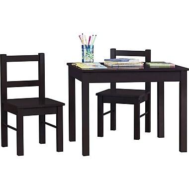 Dorel – Ensemble table et chaises en bois Hazel, pour enfants