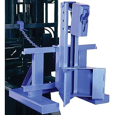 Morse – Manipulateur de barils Morspeed1500 pour chariot élévateur à fourche, 1 baril, 1 tête de baril, 55 gal, 45 gal. imp.