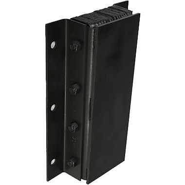 Iron Guard Safety – Butoirs de quai en caoutchouc avec revêtement en acier stratifié, vertical, 4 x 11 x 24 (po)