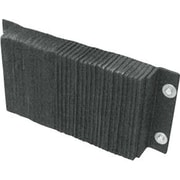 """Iron Guard Safety Laminated Rubber Dock Bumpers, 12"""" x 12"""" x 4"""", LB412-12"""