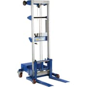"""Vestil Winch-Operated Fork Lift Stacker, Counterbalance Design, 68"""" Raised Height, A-LIFT-CB"""