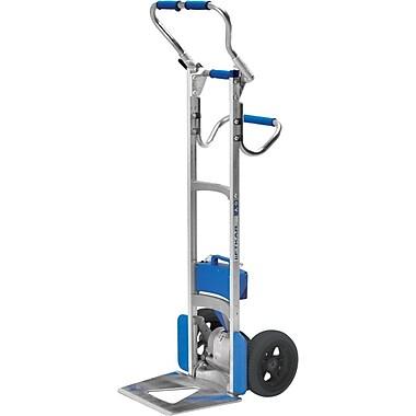 Wesco – Diable monte-marches en aluminium Liftkar, plié en L, roues pneumatiques, 240 lb