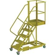 Tri-Arc – Échelle roulante en porte-à-faux renforcée de 50 po, perforée, 64 x 30 po (UCS500520246)