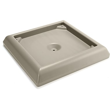 Rubbermaid – Base lestée, beige (FG917700BEIG)