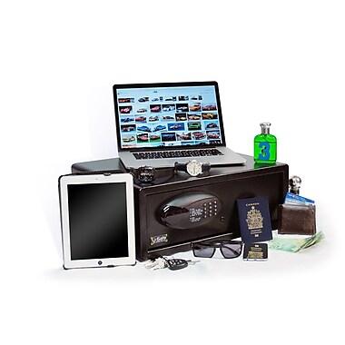 U-Safe – Coffre-fort personnel E-Safe pour ordinateur portatif avec prise de courant intégrée, 1,5 pi3