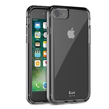 iLuv – Étui en métal Forge pour iPhone 7, noir (AI7METFBK)
