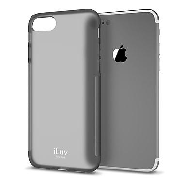 iLuv – Étui Gelato pour iPhone 7 Plus, noir (AI7PGELABK)