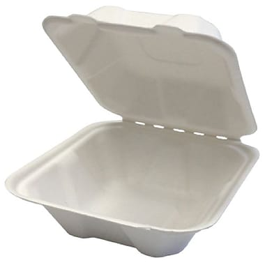 Eco Guardian Compostable Bagasse Clamshells