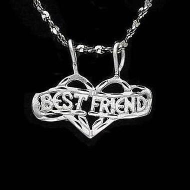 House of Jewellery Sterling Silver Diamond Cut Heart Talking Charm
