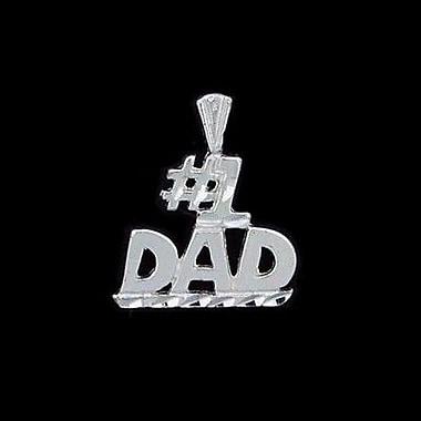 House of Jewellery Sterling Silver Diamond Cut Talking Charm