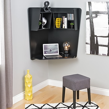 Prepac Floating Corner Desk