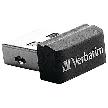 Verbatim – Clé USB Nano Store N Stay, noir