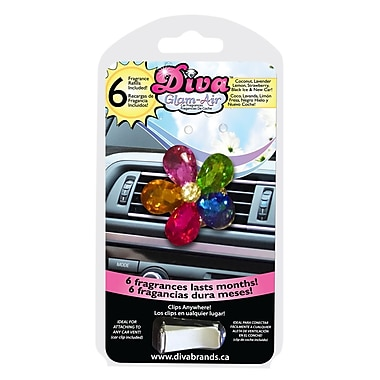 Diva Brands Glam-Air Car Fragrances