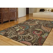 Capri CPR1010 Brown Transitional Area Rugs