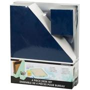 Merangue 4-Piece Paper Desk Sets