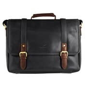 Mancini Calabria Collection Leather RFID Secure Messenger Bags