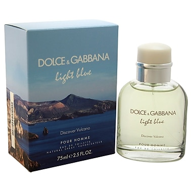 Dolce & Gabbana Light Blue Discover Vulcano EDT Spray, Men