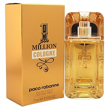 Paco Rabanne 1 Million Cologne EDT Spray, Men