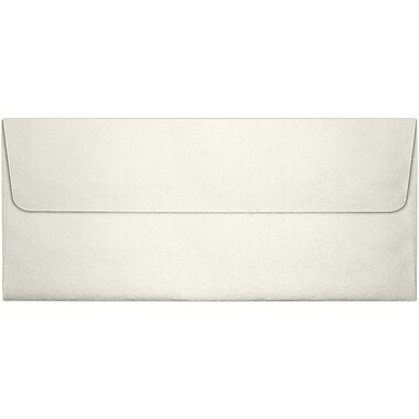 LUX Peel & Press #10 Square Flap Envelopes (4 1/8 x 9 1/2), Quartz Metallic