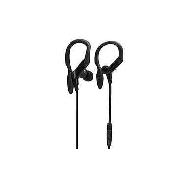 Bytech – Écouteurs stéréo avec microphone flexible (BY-AU-EB-110-BK)