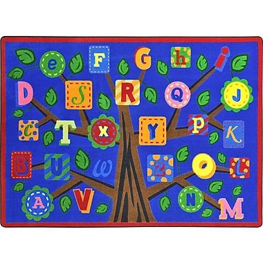 Joy Carpets Alphabet Leaves, 10'9