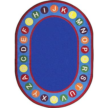 Joy Carpets Alphabet Spots, 7'8