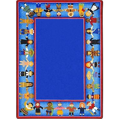 Joy Carpets – Tapis Children of many cultures, 10 pi 9 po x 13 pi