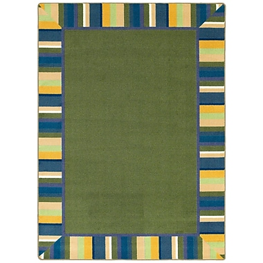 Joy Carpets – Tapis Clean green, 10 pi 9 po x 13 pi