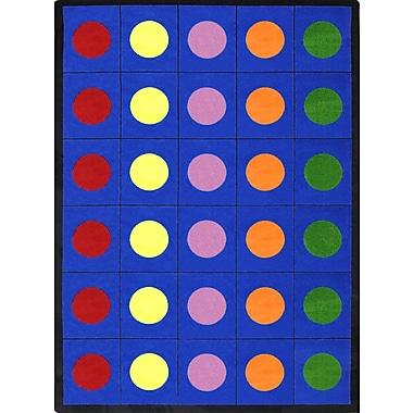 Joy Carpets – Tapis Lots of dots, 10 pi 9 po x 13 pi
