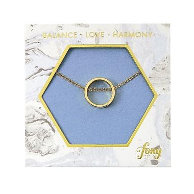 Foxy Originals Circle Harmony Necklaces