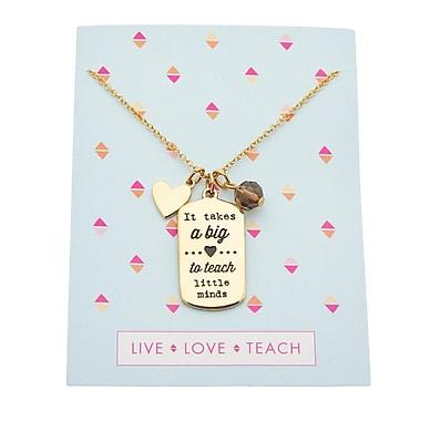 Foxy Originals Teacher Charm Necklaces